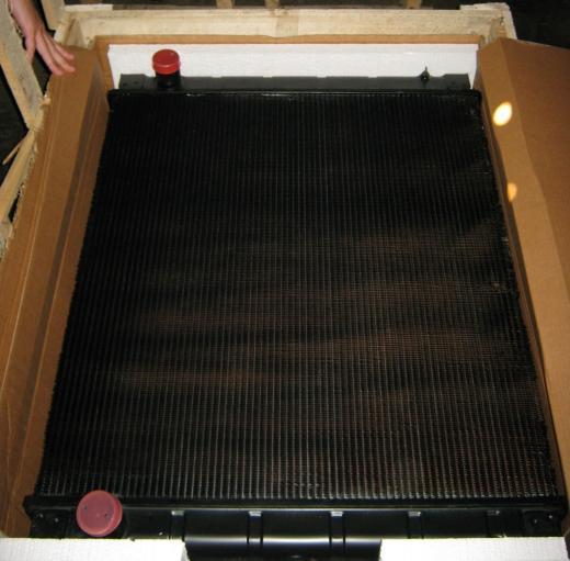 Охлаждающая система Komatsu 1