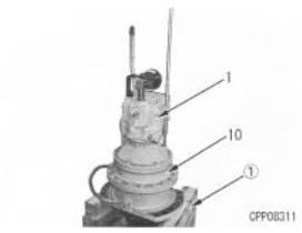 Гидромотор Komatsu